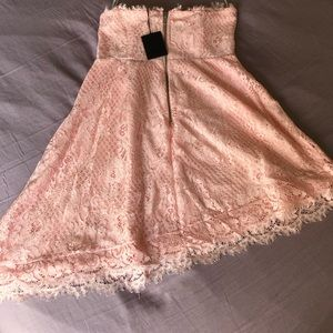 NBD Baby Pink Lace Dress